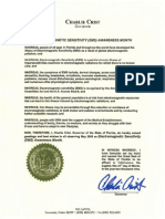 Florida 2009 EMS Proclamation by Governor Charlie Crist[1]