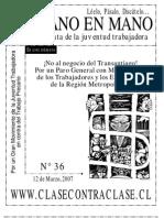 De Mano en Mano Nº36 (12 de Marzo de 2007)