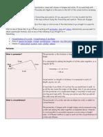 Formulae for Perimeters