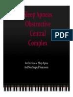 Sleep Apnea Presentation