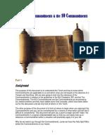 The 613 commandments and the 10 commandments part 1- 6