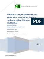 CU00320A Matrices Arrays de Controles Formularios Ejemplos Con Visual Basic