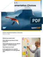 OpenSAP Mobile1 Week 05 Client Design and Implementation Choices