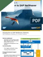 OpenSAP Mobile1 Week 04 OData Slide