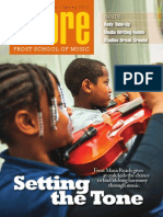 SCORE Magazine 2013 - Frost School of Music