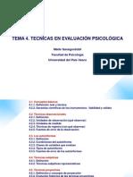 T.4. Tecnicas