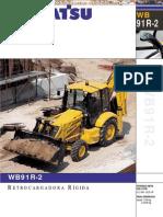Catalogo Retroexcavadora Rigida Wb91r 2 Komatsu