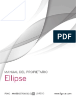 LG Ellipse LG9250 Manual Spa
