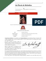 Armand-Jean Du Plessis de Richelieu