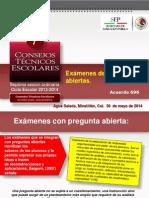 CTE 7 Exámemes Con Pregunts Abiertas.