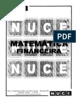 NUCE - MATEMÁTICA FINANCEIRA