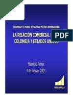 Comercio Colombia Eu