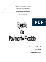 Ejercicios de Pavimentos Flexibles