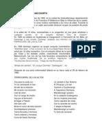 Letra y Biografia de Compositores Guatemalteco