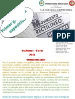 Diapositivas Terminado de Fisica Mru