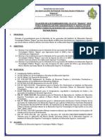 Reglamento Para La Titulación Egresados Istpb