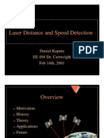 Laser Distance and Speed