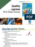 2012 Salary Survey