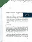 Las Funciones de La Prisión Preventiva (PASTOR)