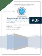 Proyecto de Termodinamica I