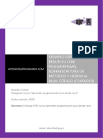 CU00691B Ejercicio Resuelto Java Herencia Polimorfismo Sobreescritura Metodo (2)