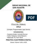Monografía CPLD