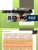 Criterios Microbiológicos _S