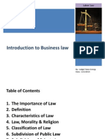 Introduction to Business Law