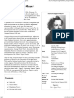 Maria Goeppert-Mayer - Wikipedia, The Free Encyclopedia