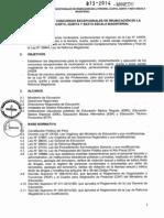 230339043 Normas Tecnicas Para Los Concursos Excepcionales de Reubicacion de Docentes en Las Escalas Magisteriales