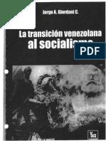 13. GIORDANI J, La transición venezolana al socialismo