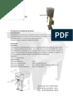 Manual Operacion Torniquete