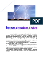 Fenomene Electrice in Natura