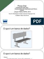 Prova Oral CEPEL Felipe Duval