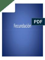 Fecundación y Desarrollo Embrionario
