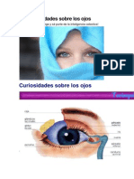 50 Curiosidades de Los Ojos