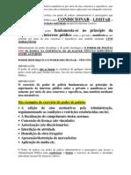 Poder de Polícia (Administrativa)