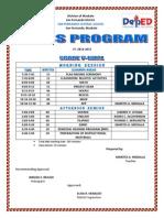 Class Program (Tess)