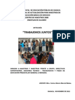 Antologia TRABAJEMOS JUNTOS Preescolar(1)