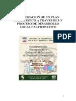 Pub 357 Plan Estrategico de Desarrollo Local Participativo Nov 2003