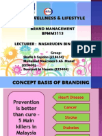 KPJ Wellness & Lifestyle Programme (22.06.2014)Brand Management (1)