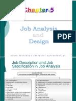 Class-Job Analysis and Design