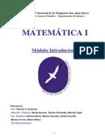 Matematicas Modulo Introductorio 2009
