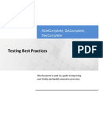 Test Best Practices