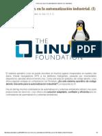 1 Cómo Usar Linux en La Automatización Industrial