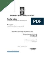 Evaluación_Desarrollo_Organizacional
