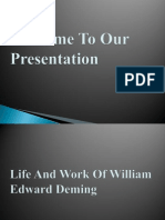 9 William Edwards Deming Power Point