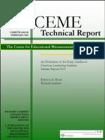 Early Childhood Directors Leadership Institute Interim Report Revised(1)
