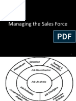 Managing the Sales Force- Unit 2