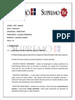 Finalmente DPF 5 08.05.2013 Prof. Juliana Frederico (1.4) FINALMENTE DPF